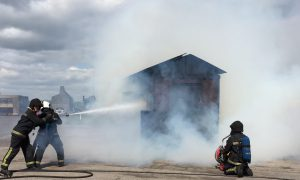 CoolFire Training at Fire Service College